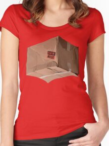 What's in the box? Women's Fitted Scoop T-Shirt