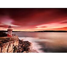 Under the Red Sky Photographic Print
