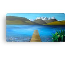 Lake Alexandrina Canvas Print