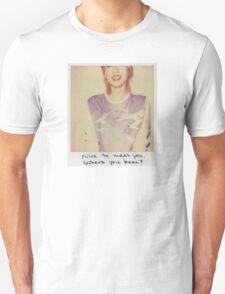Blank Space Polaroid T-Shirt