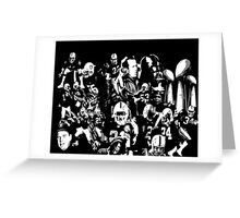 Legends of Raider Nation Greeting Card