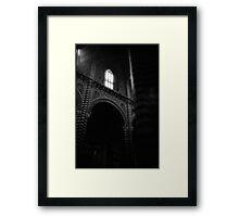 Polo Pillars - Lomo Framed Print