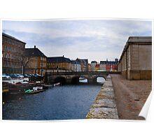 towards nyhavn Poster