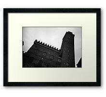 Medieval Manhattan - Lomo Framed Print