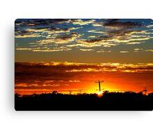 Sunrise Over The 'burbs Canvas Print
