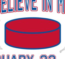 Do You Believe In Miracles? Sticker