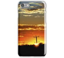 Sunrise Over The 'burbs iPhone Case/Skin