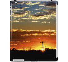 Sunrise Over The 'burbs iPad Case/Skin