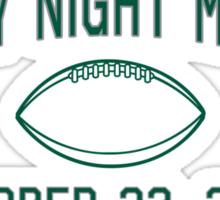 Monday Night Miracle Sticker