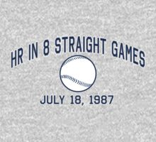 HR in 8 Straight Games by LicensedThreads
