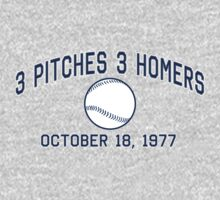 3 Pitches 3 Homers by LicensedThreads