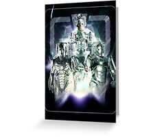 Evolution of the Cybermen Greeting Card