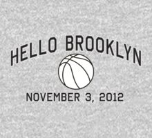 Hello Brooklyn by LicensedThreads