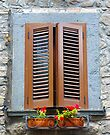 A window in Tuscany by Sandro Rossi
