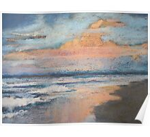 Sussex Inlet - morning sky Poster
