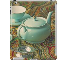 Anyone for a cuppa? iPad Case/Skin