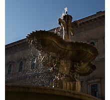 Rome's Fabulous Fountains - Piazza Farnese Fountain Photographic Print