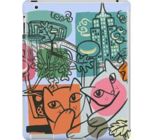 On the Town iPad Case/Skin