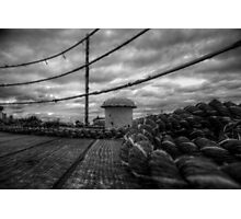 Deck Rope Photographic Print