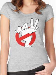 Ghostbusters 2 II Women's Fitted Scoop T-Shirt