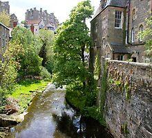 Dean village in Edinburgh by jayview