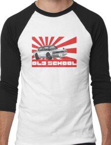 skyline gtr old school Men's Baseball ¾ T-Shirt