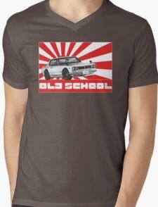 skyline gtr old school Mens V-Neck T-Shirt