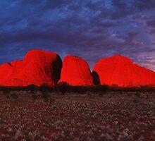 Kolours of Kata Tjuta - Central Australia by Mark Shean