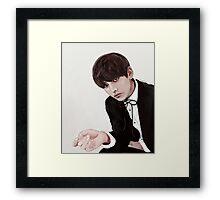 // gentleman // Framed Print