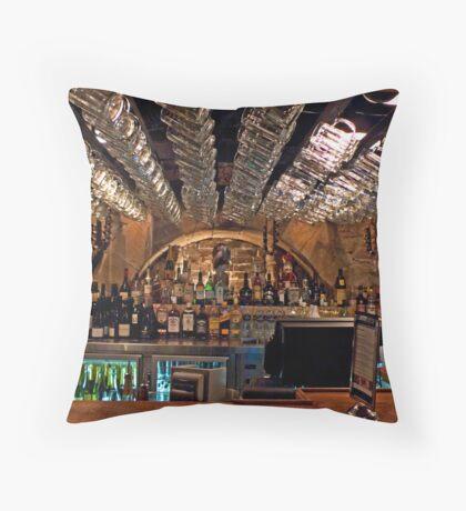 Lowenbrau Bier Hall Throw Pillow