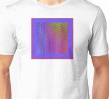 Rainbow Rectangles Unisex T-Shirt