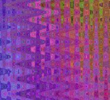 Rainbow Rectangles Sticker
