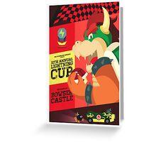 Bowser Mario Kart Greeting Card
