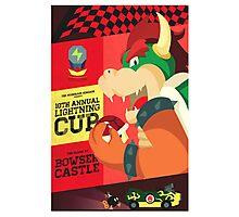 Bowser Mario Kart Photographic Print