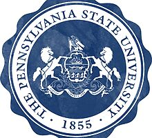 PENN STATE pennsylvania psu logo  by linnnna