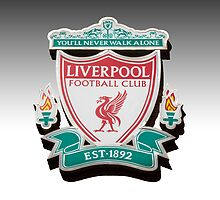 Liverpool club crest by Paul Madden