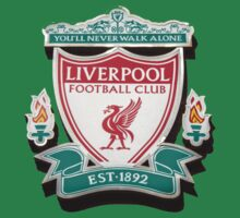 Liverpool FC Club Badge by Paul Madden