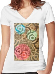 thread Women's Fitted V-Neck T-Shirt