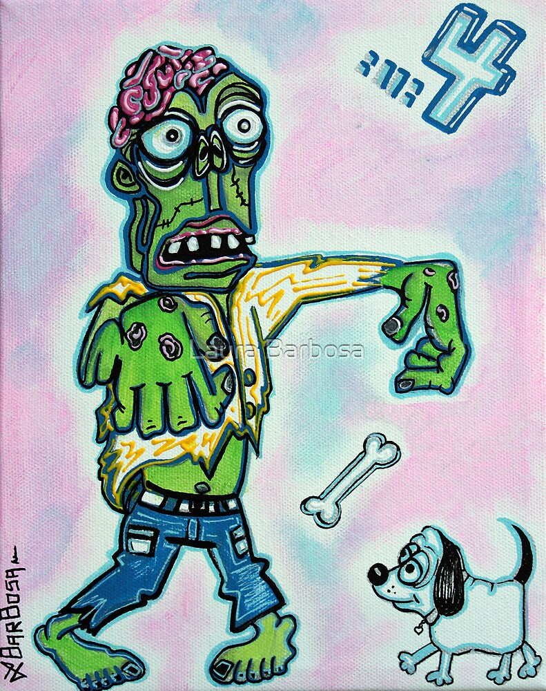 My Pet Zombie #4 - Here Boy by Laura Barbosa