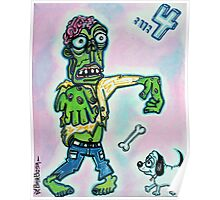 My Pet Zombie #4 - Here Boy Poster