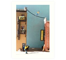 It's Visa……they're not one of your fans but they ARE calling about your outstanding balance. Art Print