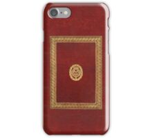 Red & Gold Book iPhone Case/Skin