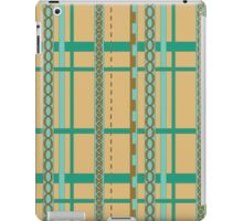 Abstract ribbon pattern iPad Case/Skin