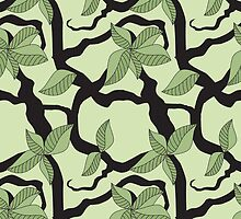 Branch and leaves formation pattern by CClaesonDesign