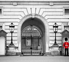 Beefeater at Buckingham Palace, London by ChromaticTouch