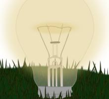 Powered by Tesla - Bulb Sticker