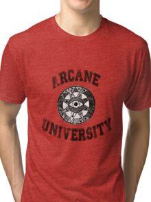 Arcane University  Tri-blend T-Shirt