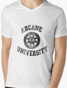 Arcane University  Mens V-Neck T-Shirt