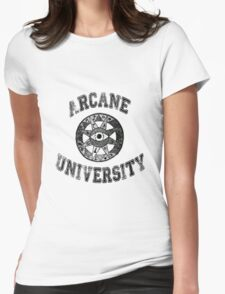 Arcane University  Womens Fitted T-Shirt