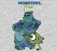 Monsters Ink Kids Tee